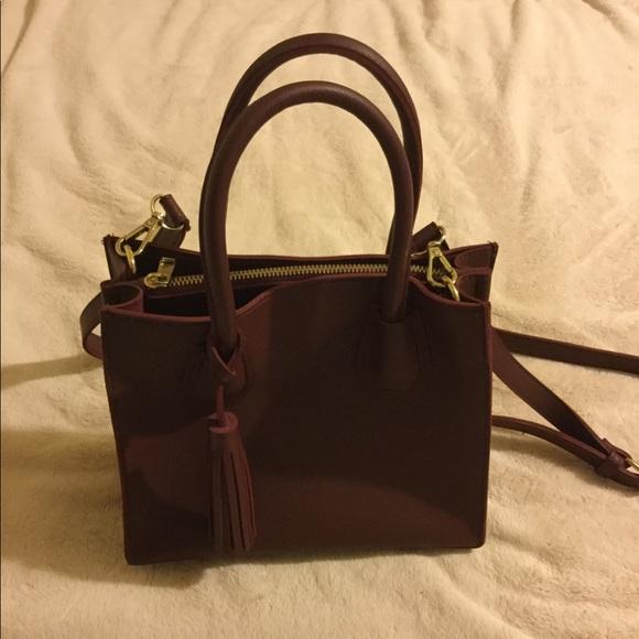 Forever 21 Handbags - Burgundy satchel purse
